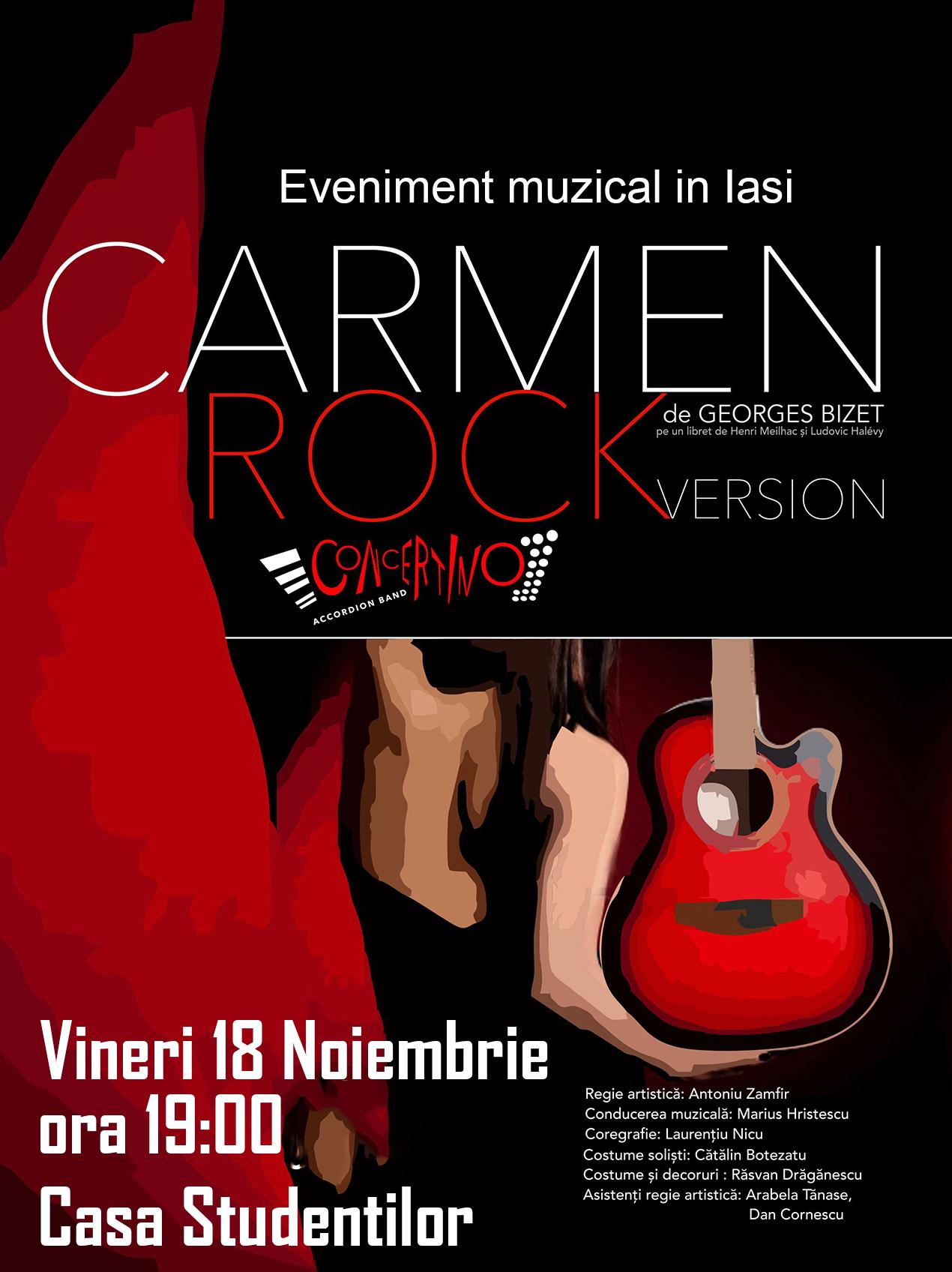 Carmen Rock Version afis